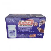 Refil p/ Marcador Permanente 40ml Azul 12 Unidades Radex