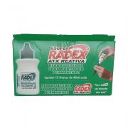 Refil p/ Marcador Permanente 40ml Verde 12 Unidades Radex