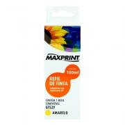 Refil de Tinta Compatível HP 51 100mL Amarelo Maxprint