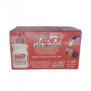 Refil p/ Marcador Permanente 40ml Vermelho 12 Unidades Radex