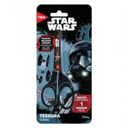 Tesoura Escolar 13cm Assimétrica Star Wars Tris