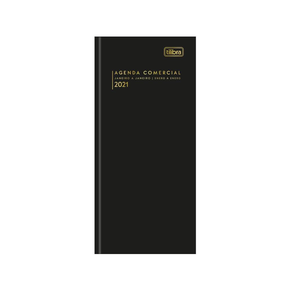 Agenda Executiva Costurada Diária de Mesa Comercial 2021 Tilibra