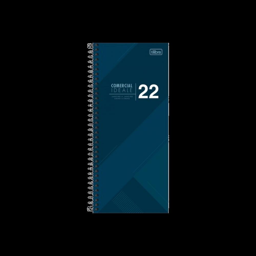 Agenda Executiva Espiral Diária Comercial Ideale 2022 Tilibra
