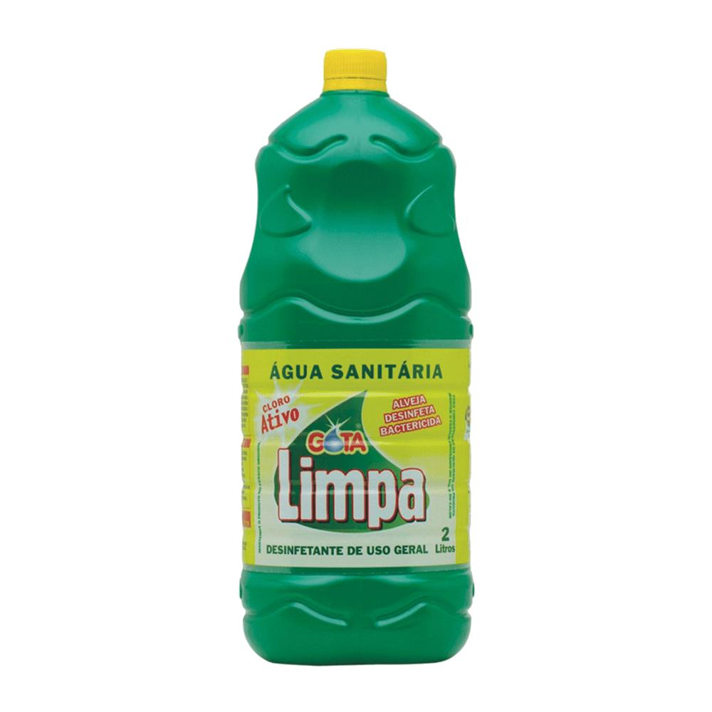 Água Sanitária 2L Gota Limpa