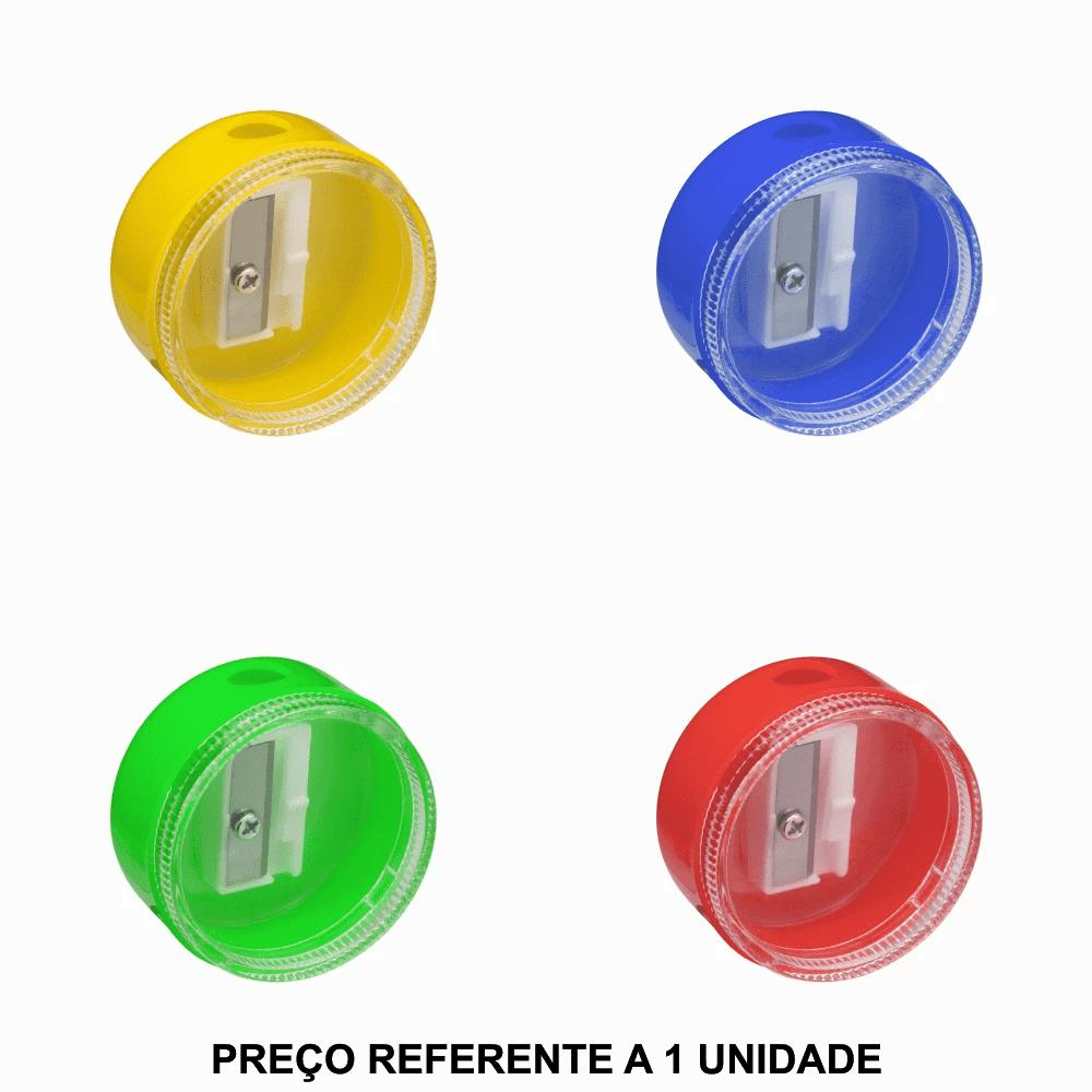 Apontador de Plástico Redondo com Depósito BRW
