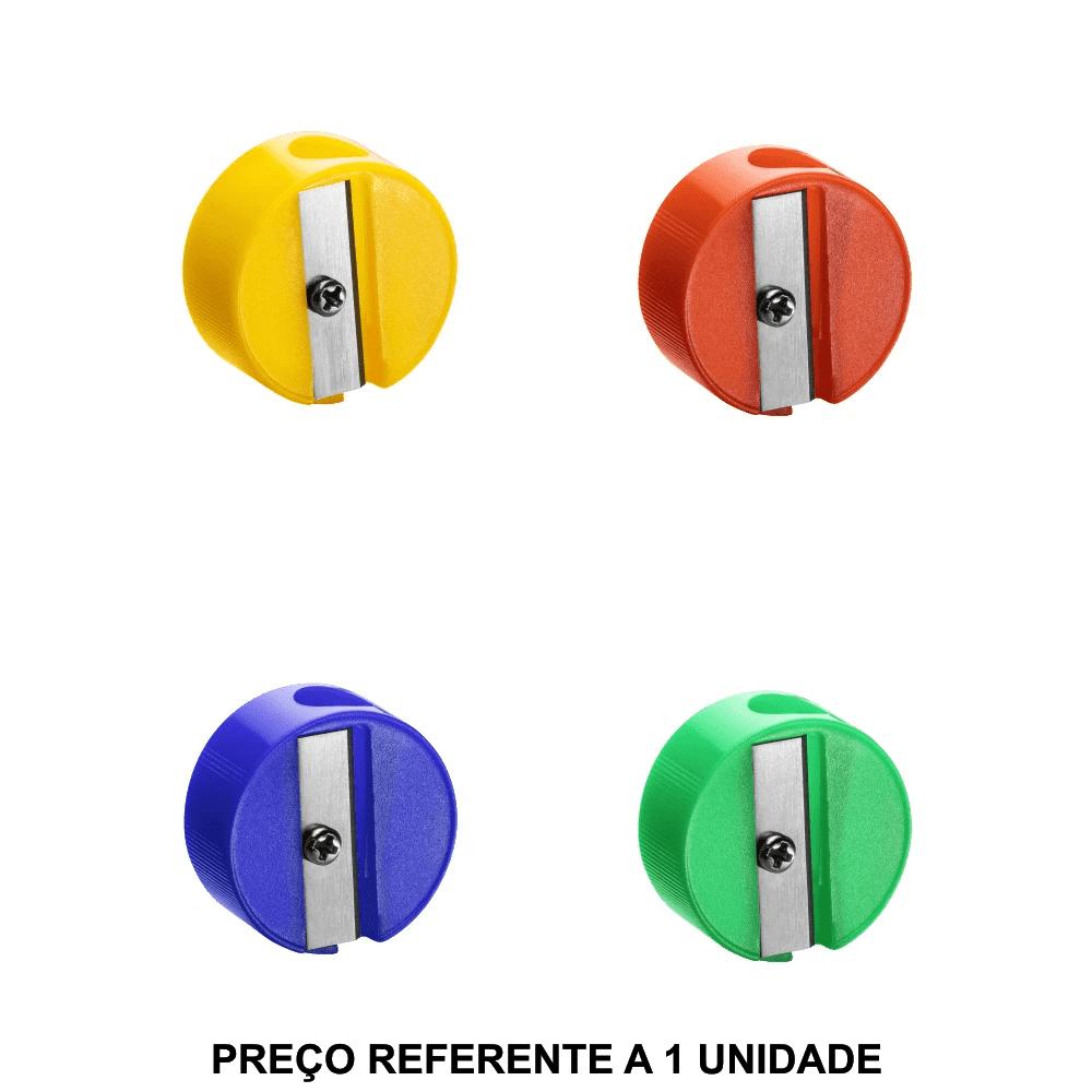 Apontador Plástico Redondo BRW