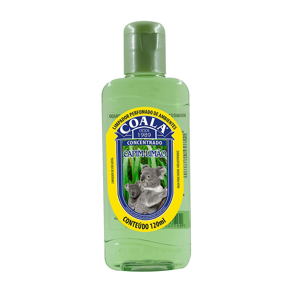 Limpador Perfumado de Ambientes 120ml Capim-Limão Coala