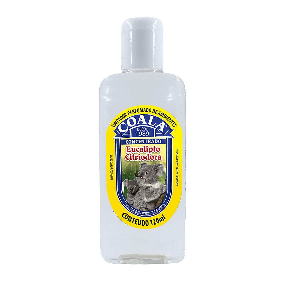 Limpador Perfumado de Ambientes 120ml Eucalipto Citriodora Coala
