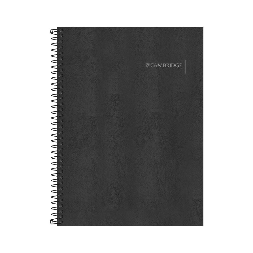 Caderno Executivo Espiral Capa Dura Cambridge 80 Folhas Tilibra