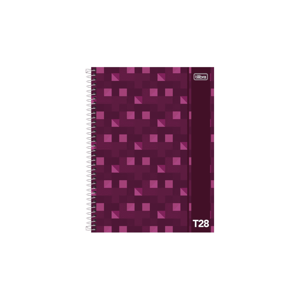 Caderno Universitário Capa Dura 96 Folhas T28 Tilibra