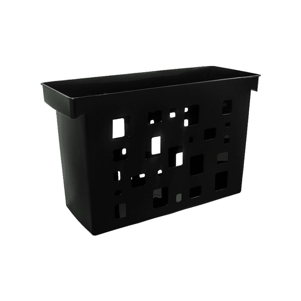 Caixa Arquivo Preto Sem Pasta Suspensa DelloColor