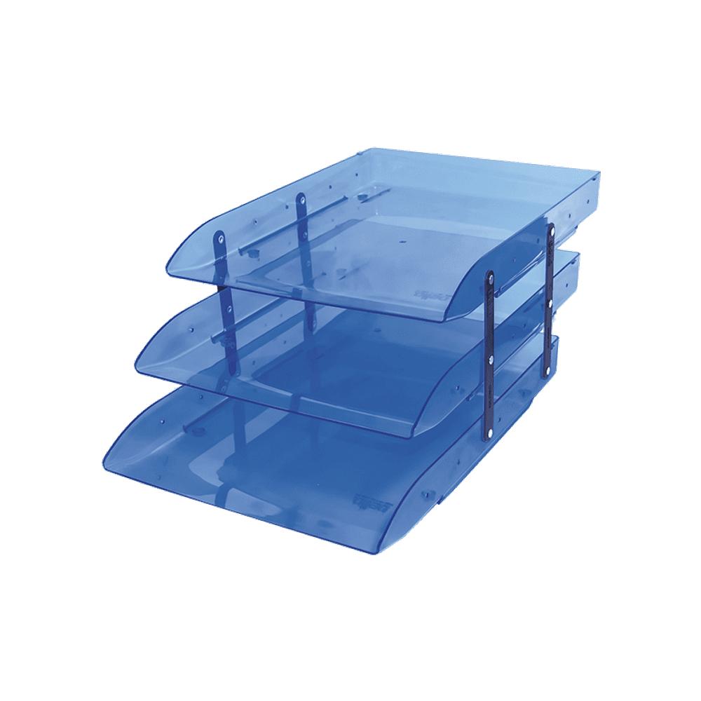 Caixa de Correspondência Tripla Móvel Azul Dello