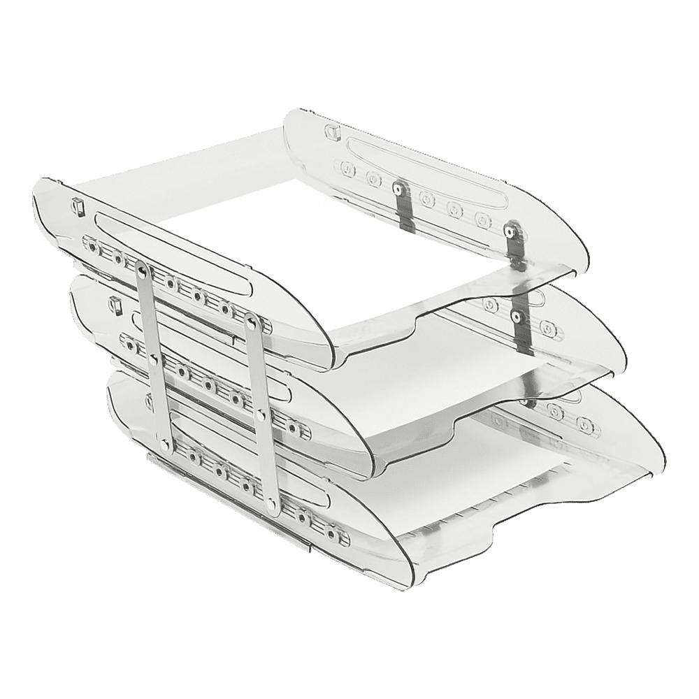 Caixa de Correspondência Tripla Móvel Cristal Super X Acrimet