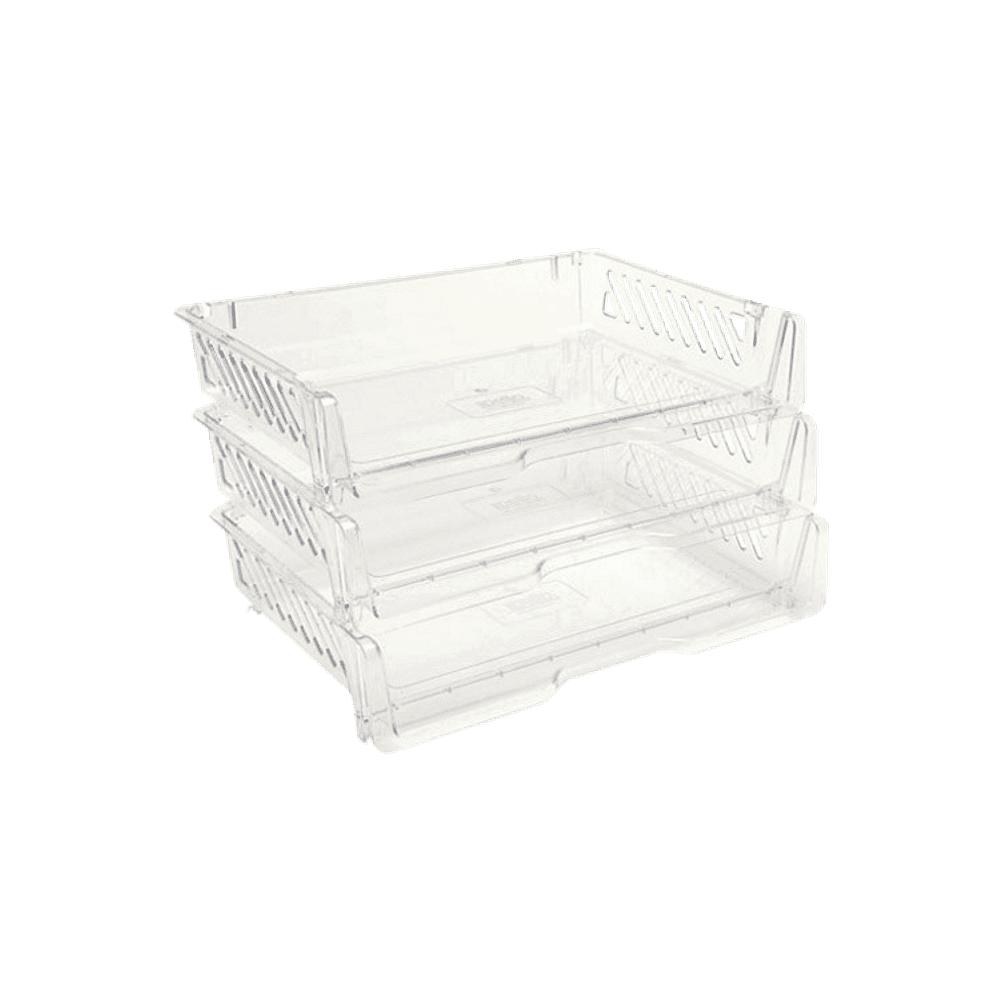 Caixa de Correspondência Tripla Cristal DelloColor