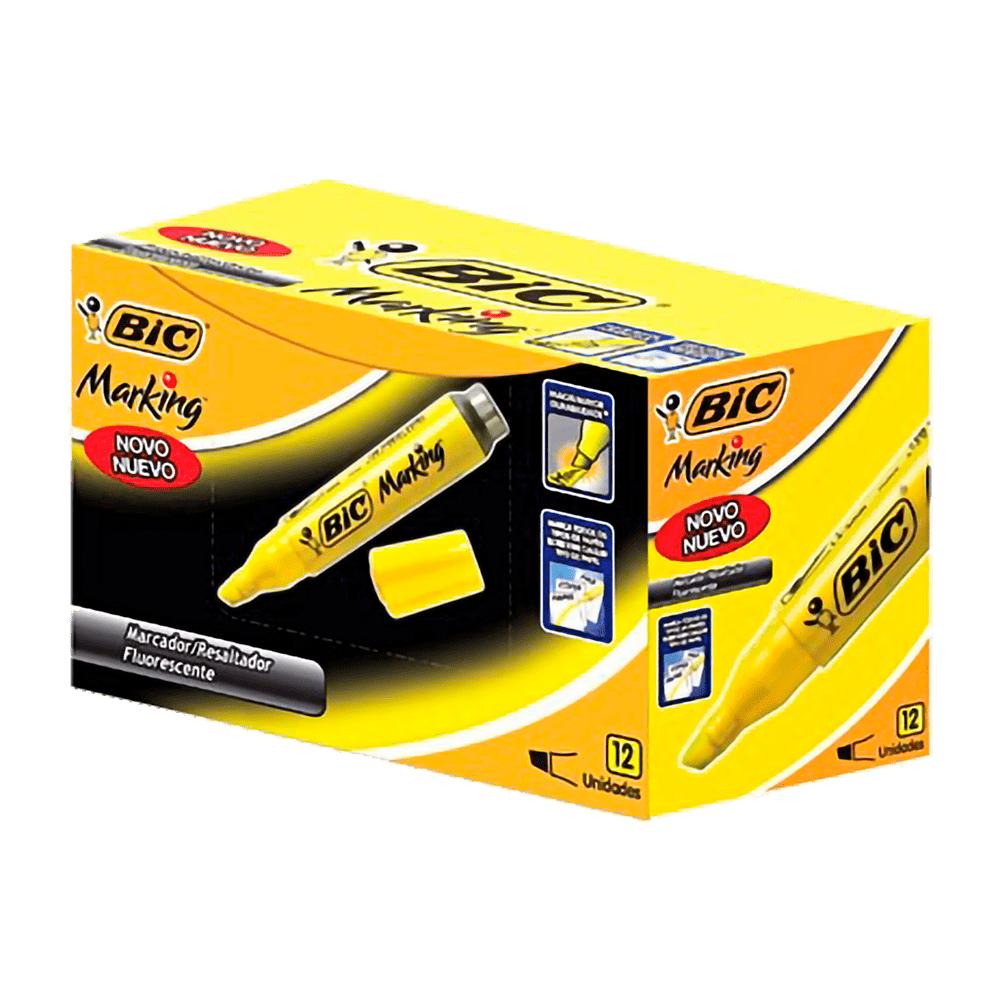 Marca-Texto Amarelo Bic Marking