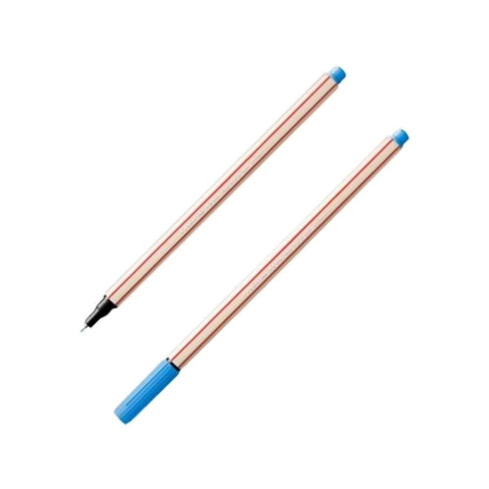 Caneta Fineliner 0.4mm Azul Claro Microline Compactor