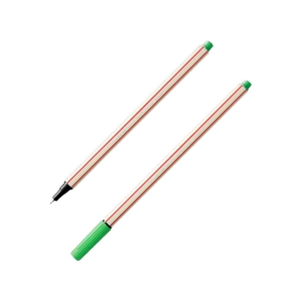 Caneta Fineliner 0.4mm Verde Claro Microline Compactor
