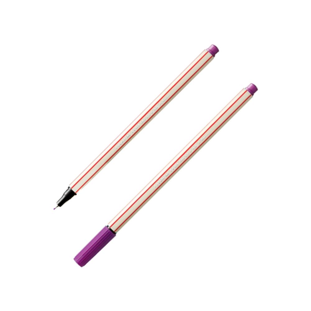 Caneta Fineliner 0.4mm Violeta Microline Compactor