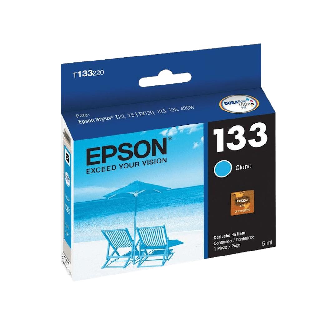 Cartucho de Tinta 133 Ciano 5ml Epson