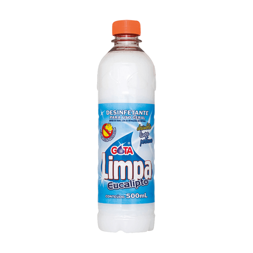 Desinfetante Multiuso 500mL Eucalipto Gota Limpa