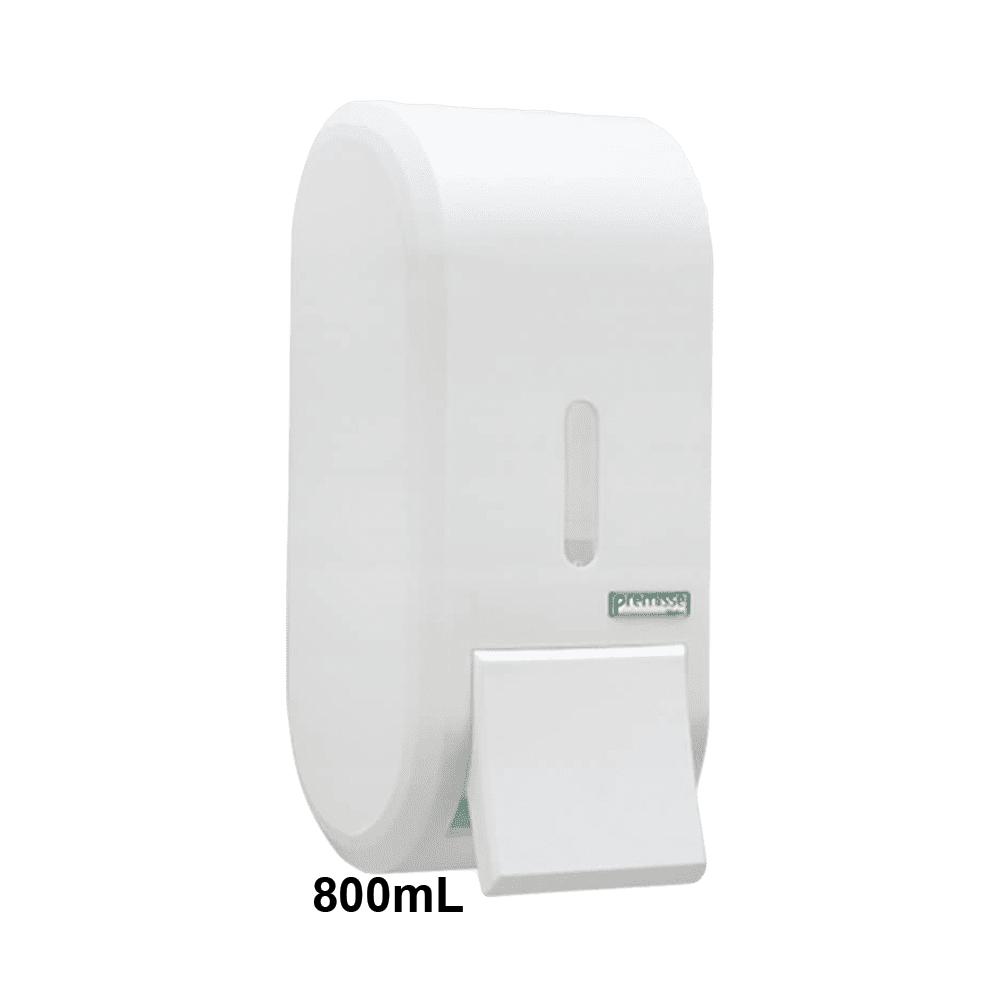 Dispenser Sabonete com Reservatório 800mL Branco Urban Premisse