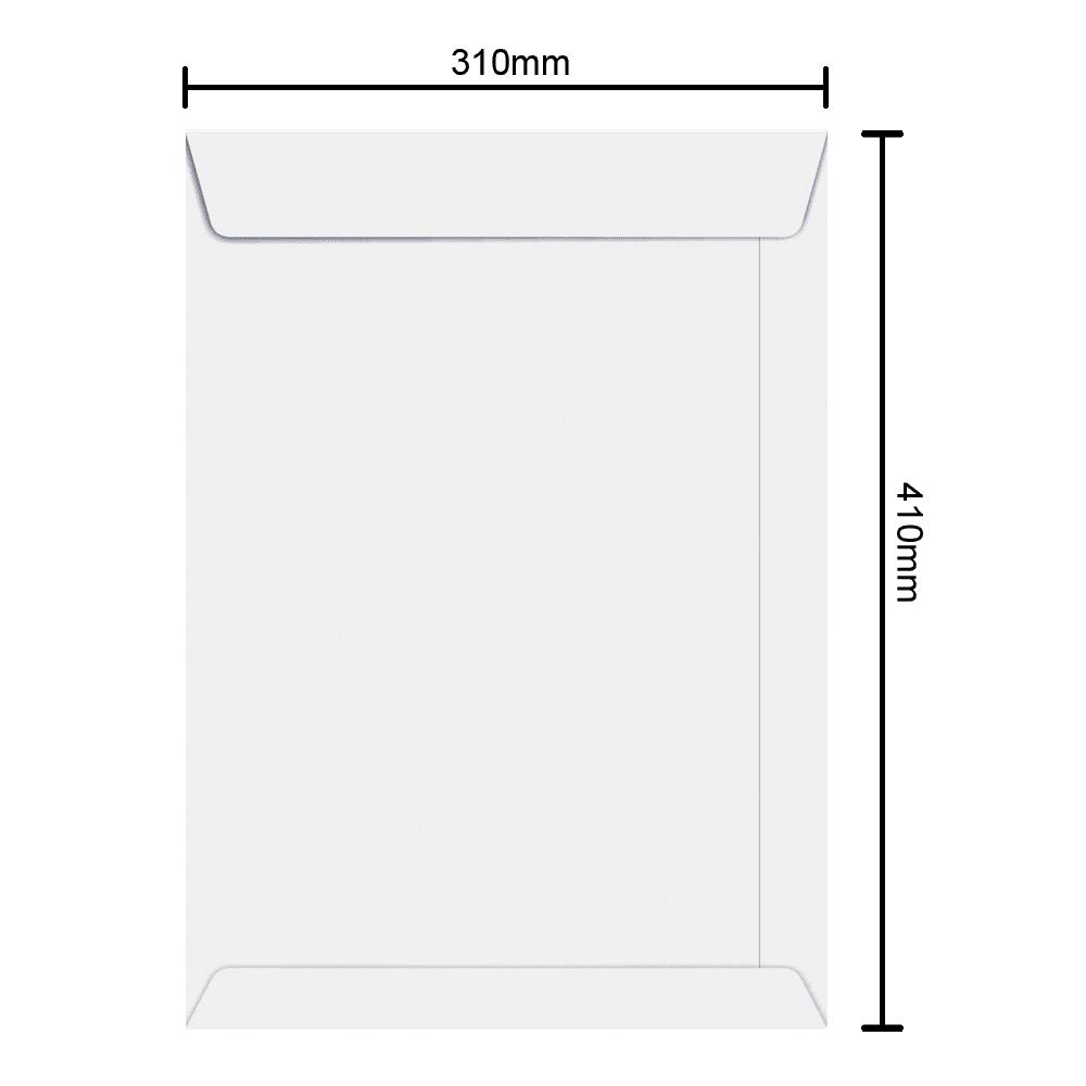 Envelope Branco 310mm x 410mm 90g 6468 Ipecol