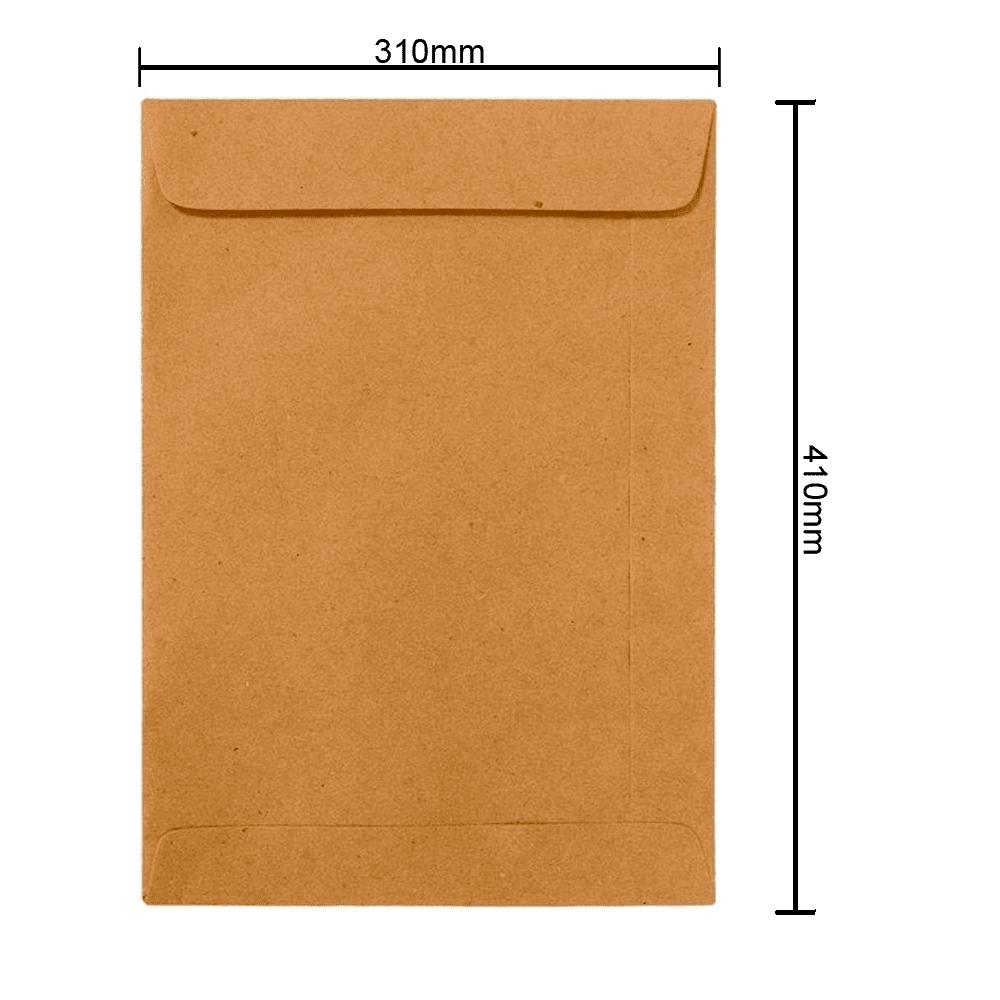 Envelope Kraft 310mm x 410mm 80g 6278 Ipecol