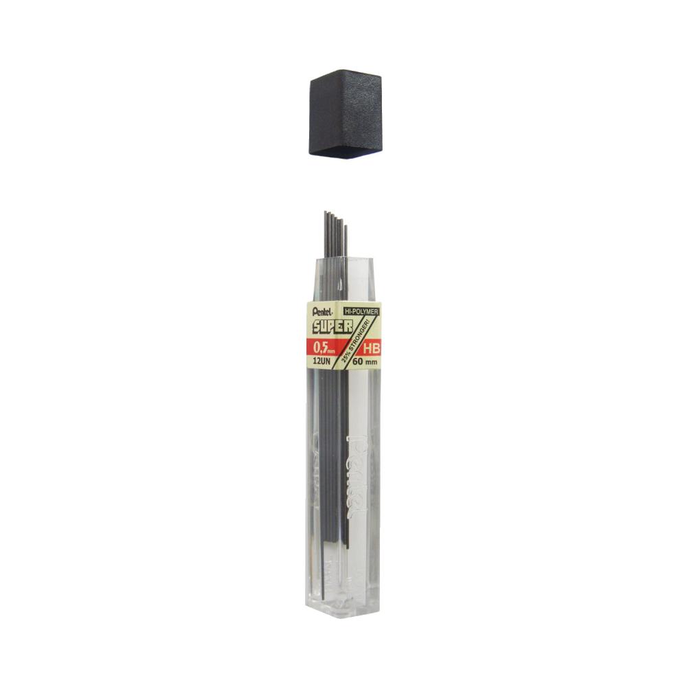 Grafite HB 0.5mm 12 Unidades Pentel
