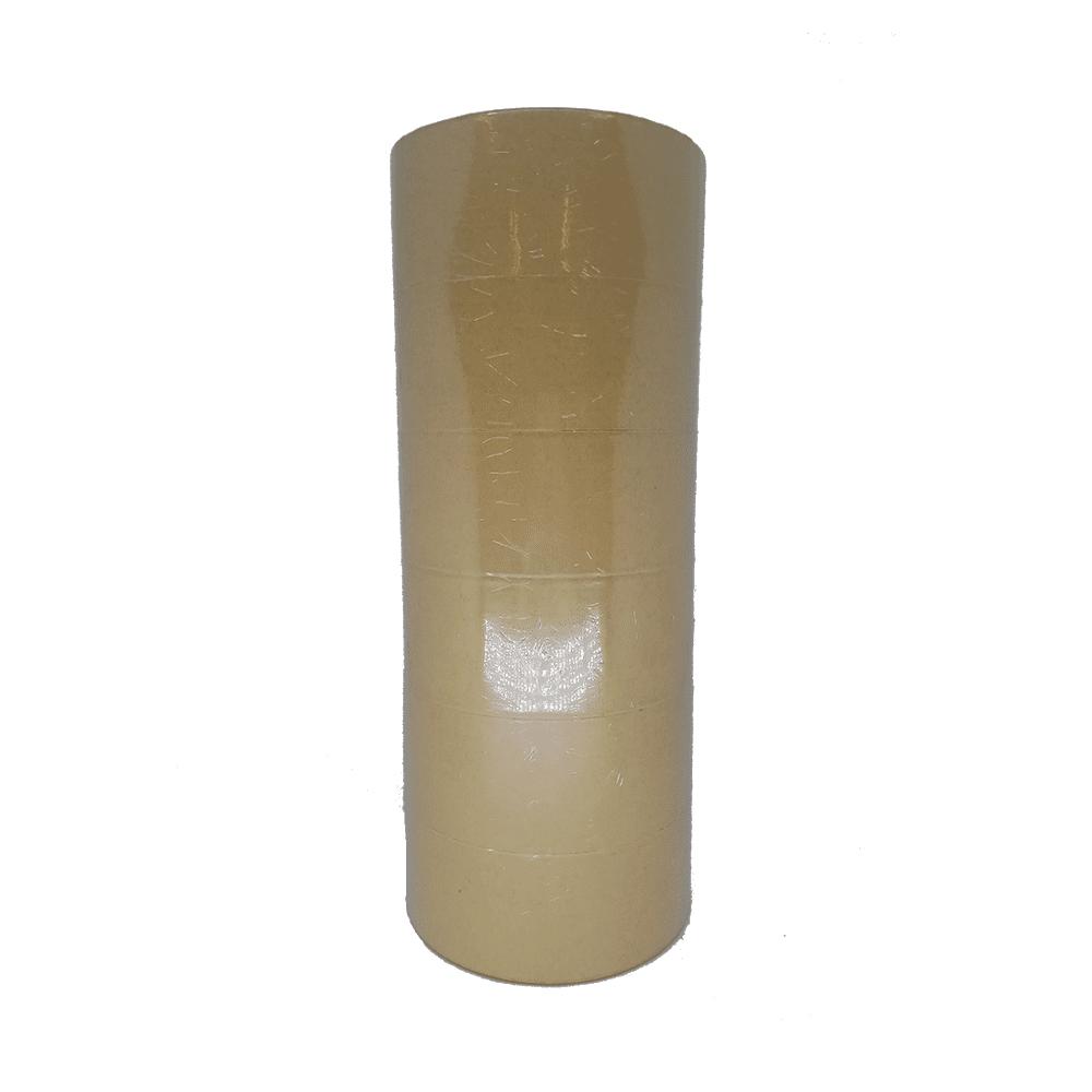 Fita Kraft Lisa 50mm x 50m Marrom 6 Unidades NeoMundi