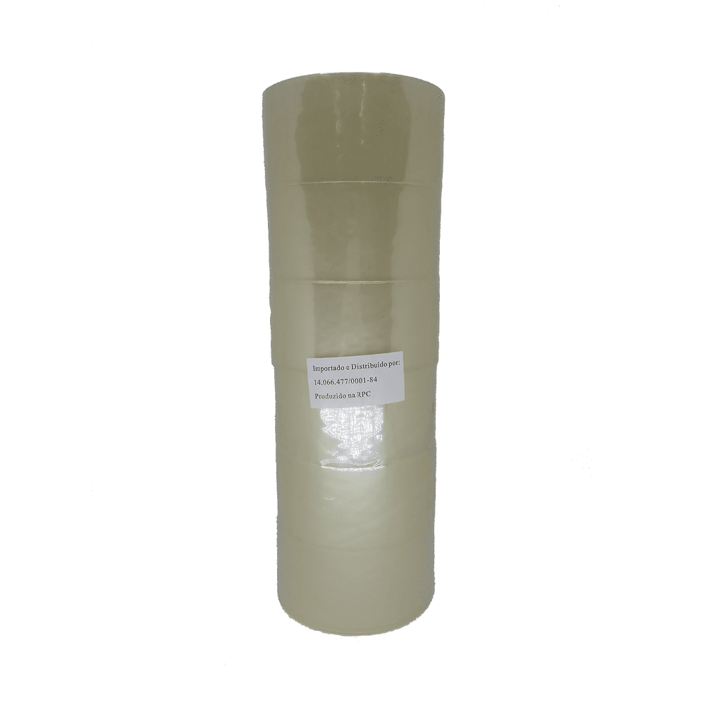Fita Adesiva PP 45mm x 45m Transparente 6 Unidades NeoMundi