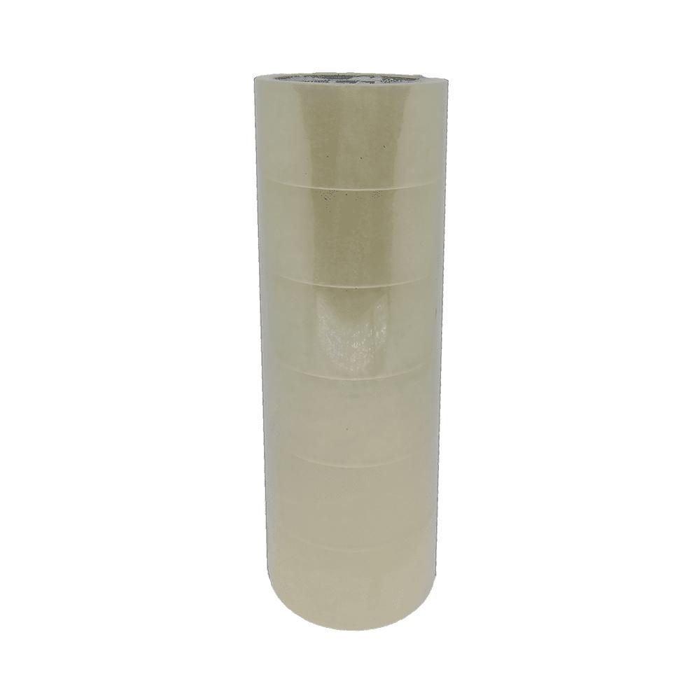 Fita Adesiva PP 50mm x 50m Transparente 6 Unidades NeoMundi