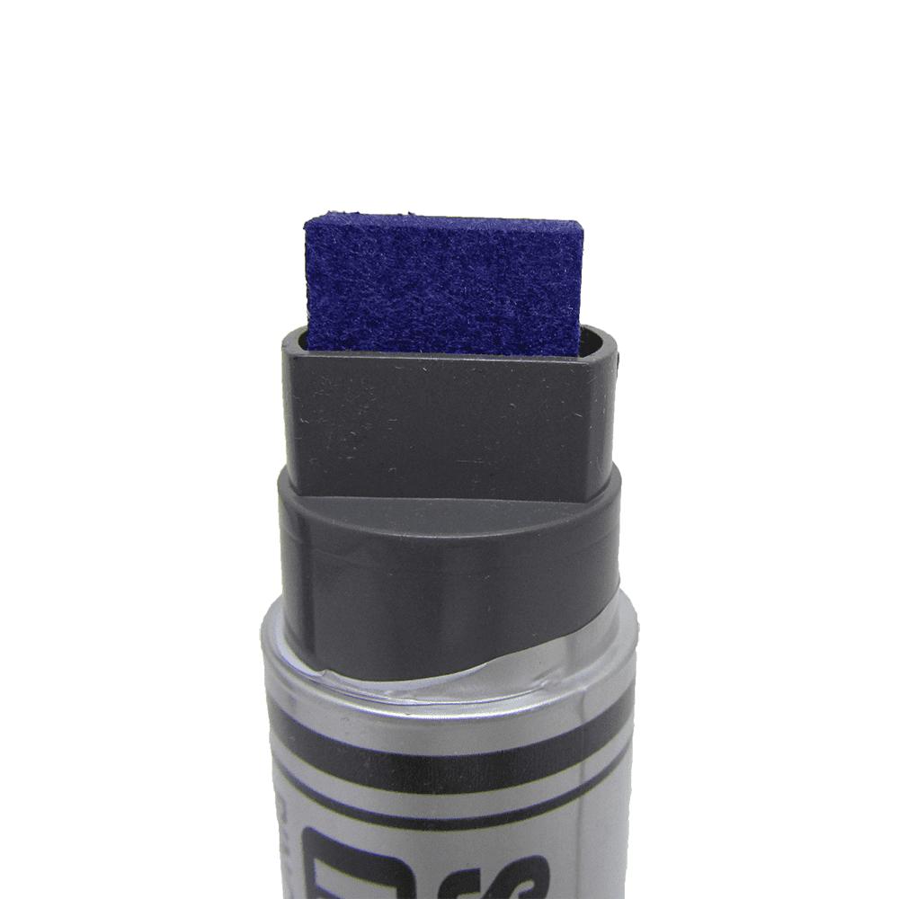 Marcador Permanente Azul 6 Unidades Super Canettão Radex