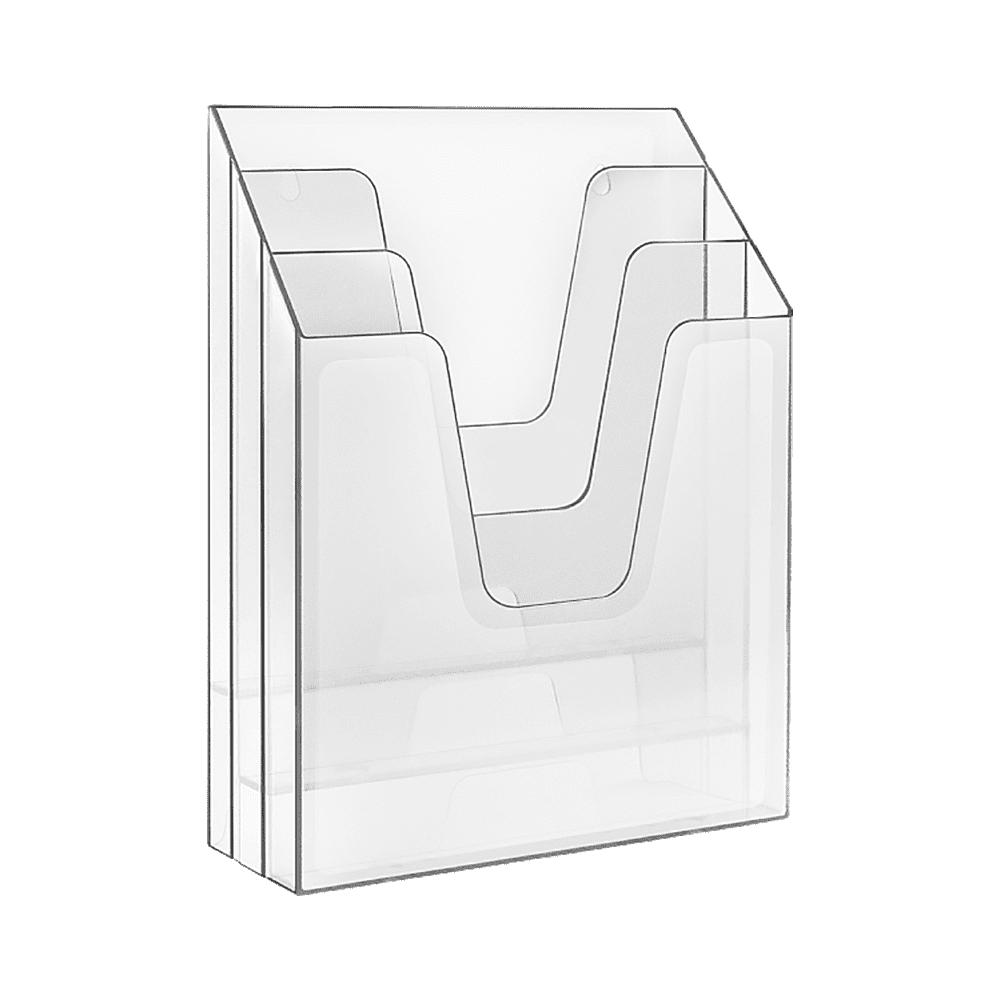 Organizador de Escritório Vertical Cristal Acrimet