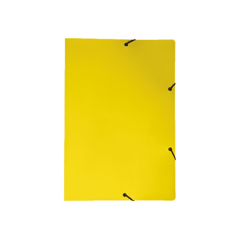 Pasta Aba Elástico Amarelo DelloPlex