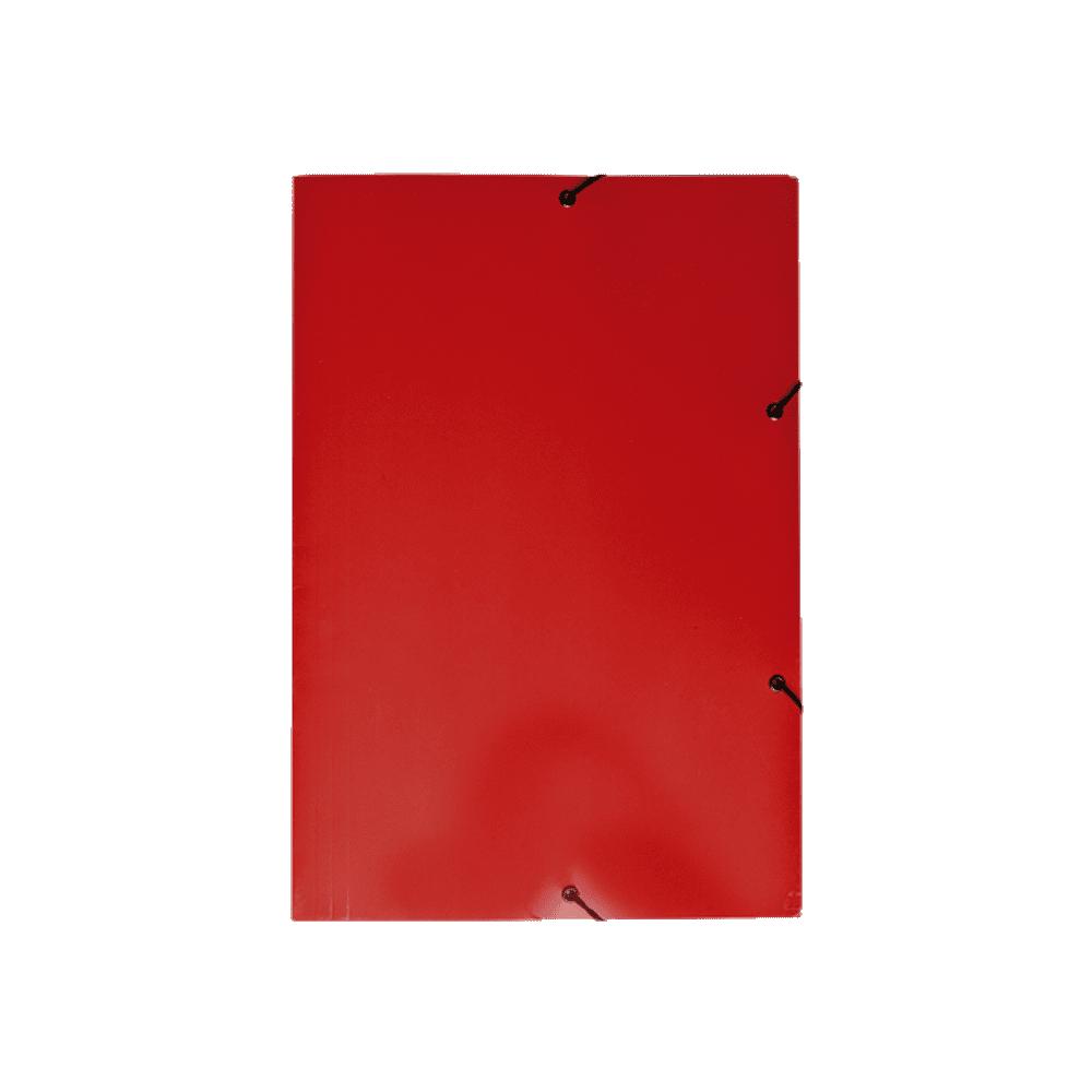 Pasta Aba Elástico Vermelho DelloPlex