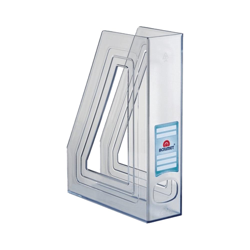 Porta Revista Classic Line Cristal 2 Unidades Acrimet