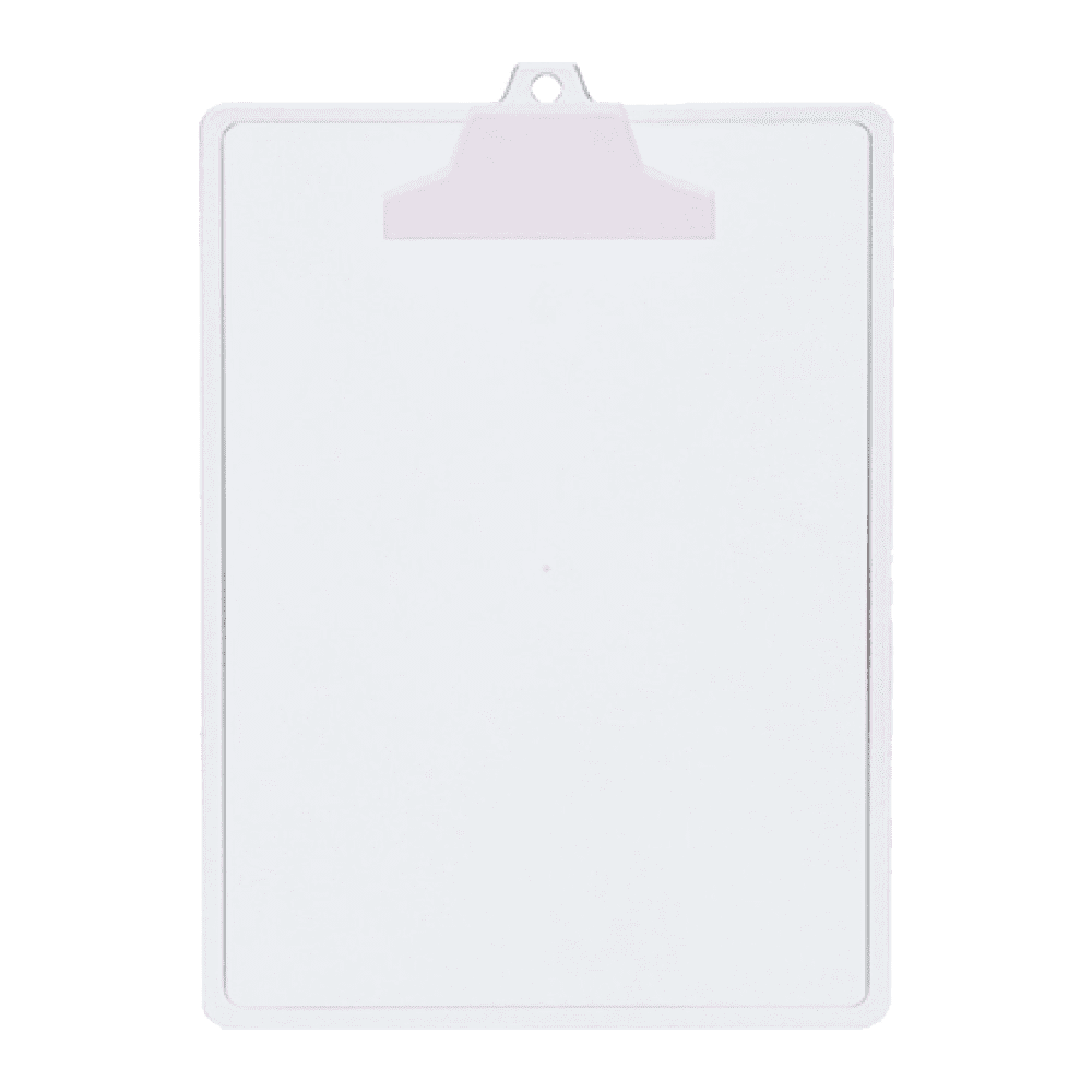 Prancheta A4 com Garra Plástica Cristal Acrimet POP