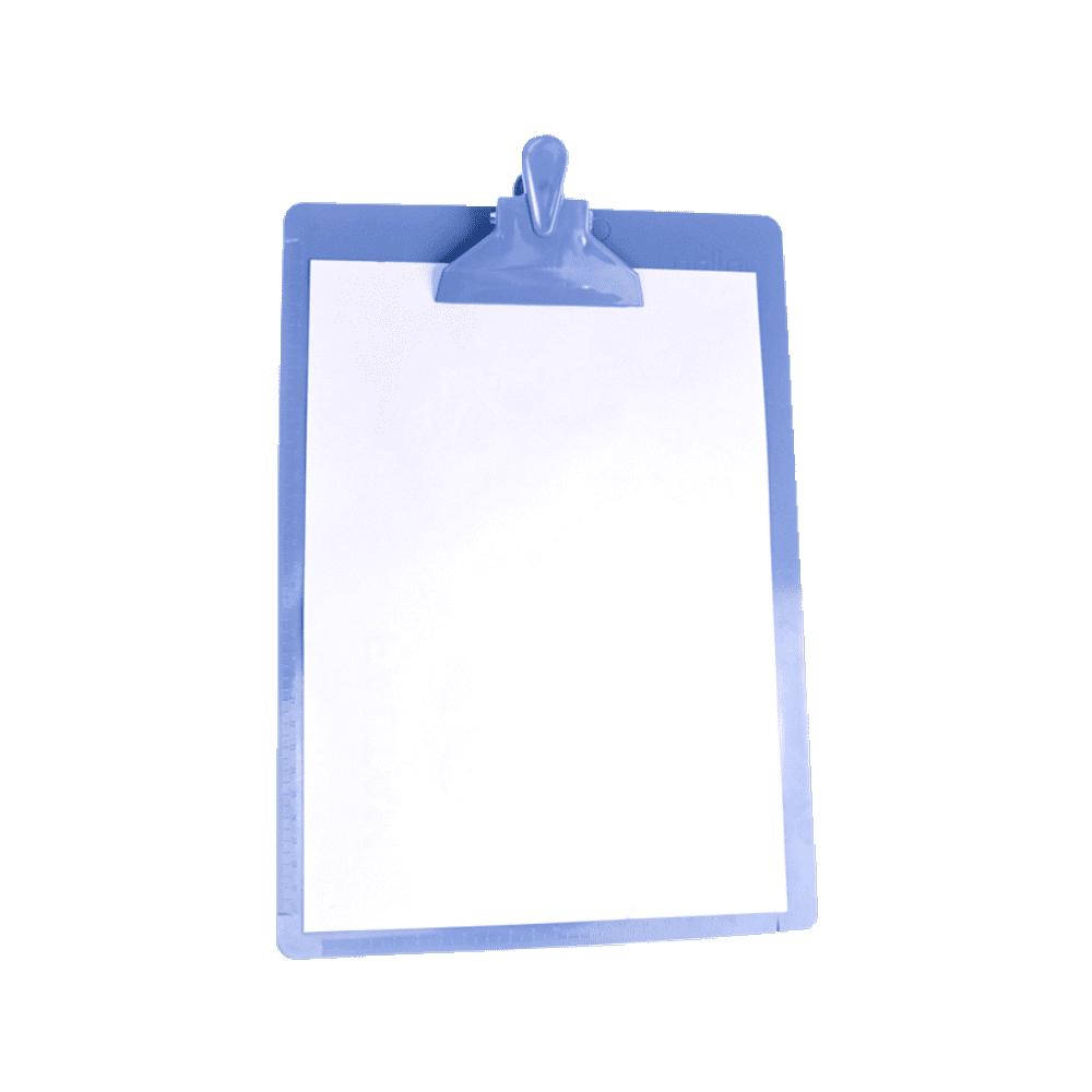 Prancheta Ofício Azul DelloColor