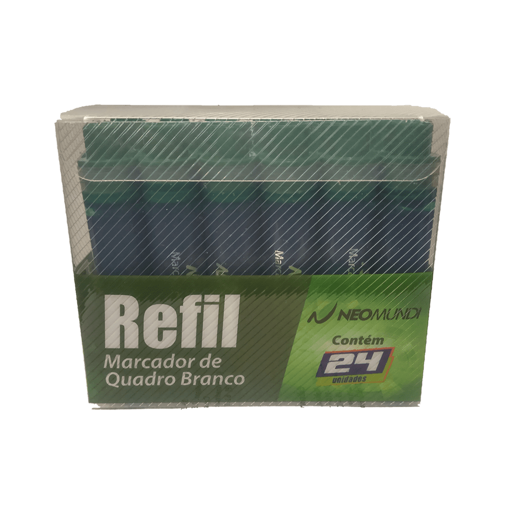 Refil p/ Marcador para Quadro Branco Verde NeoMundi