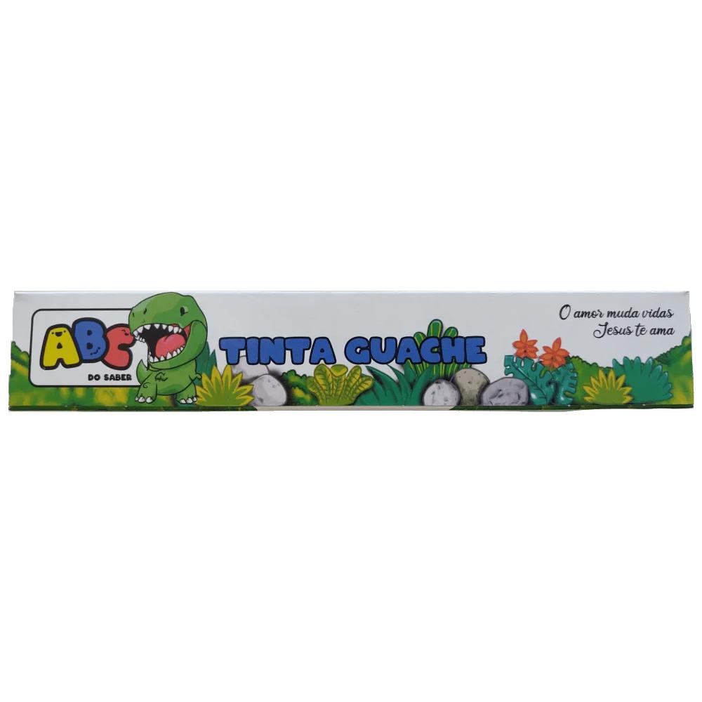 Tinta Guache 15ml 6 Cores Abc