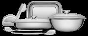 Jogo Aço Inox Tramontina Cozinha e Mesa 7Pçs 64310/080