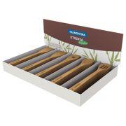 Jogo de Utensílios Tramontina em Bambu Natural 50 Peças 10239/383   Lojas Estrela