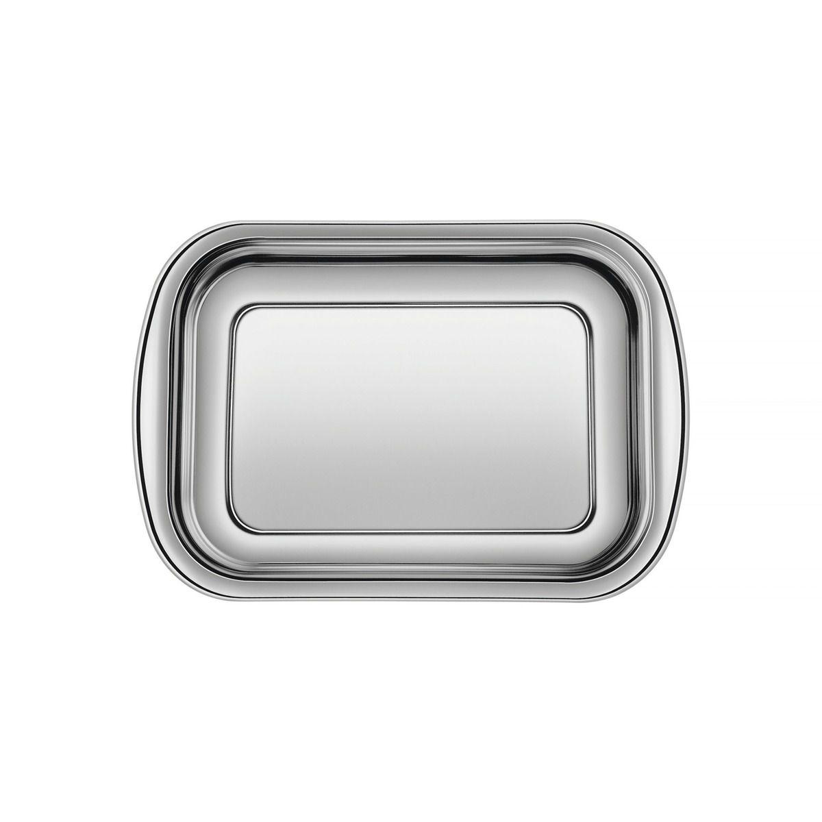 Assadeira Tramontina Cosmos Retangular em Aço Inox 30 cm 61310/301 | Lojas Estrela