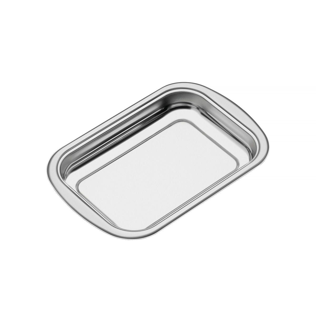 Assadeira Tramontina Cosmos Retangular em Aço Inox 34 cm 61310/341 | Lojas Estrela