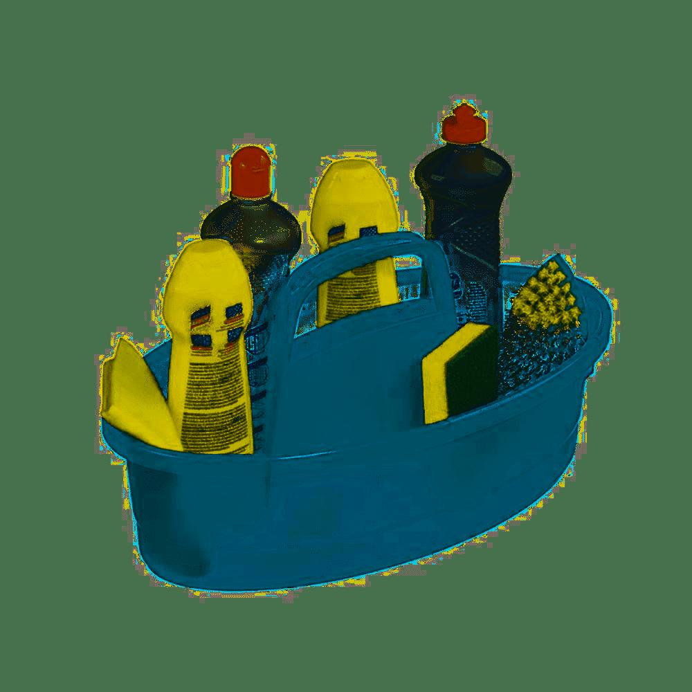 Balaio De Limpeza Hydrus Azul 7 Lts