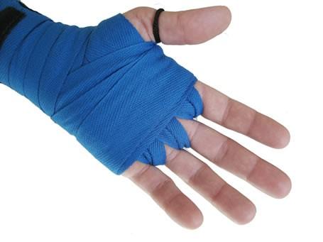 Bandagem de algodão azul 4M X 40mm Deveras
