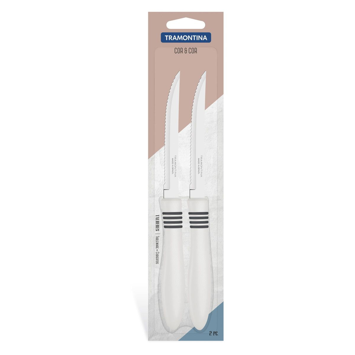 Conjunto facas para churrasco 2 peças 23450/255 | Lojas Estrela