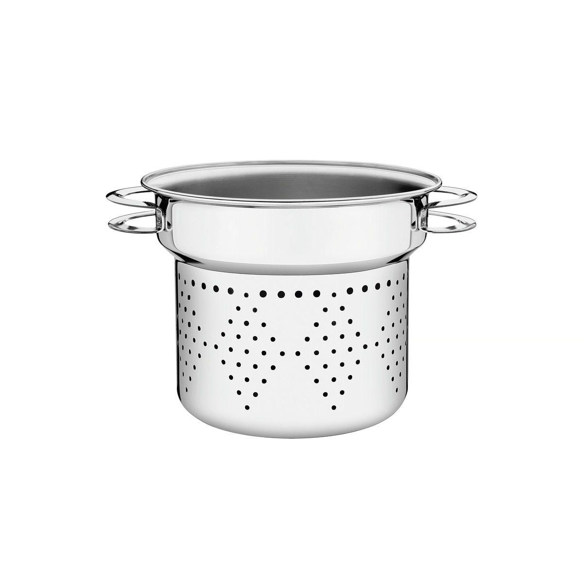 Cozi-Pasta Tramontina Solar em Aço Inox Alças Baquelite 24 cm 8 L 62514/240 | Lojas Estrela