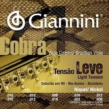 Encordoamento para Viola ACO Leve GESVNL Serie Cobra Giannini 21804