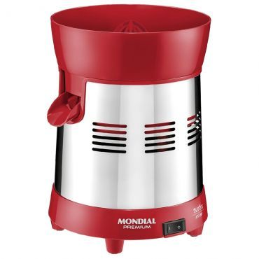 Espremedor Mondial Turbo Red 220W Premium